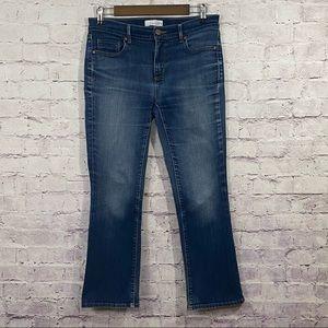 Loft Flare Crop Jeans